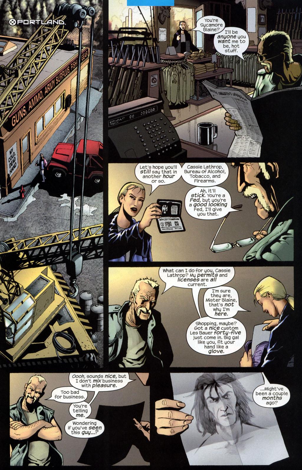 Read online Wolverine (2003) comic -  Issue #7 - 8