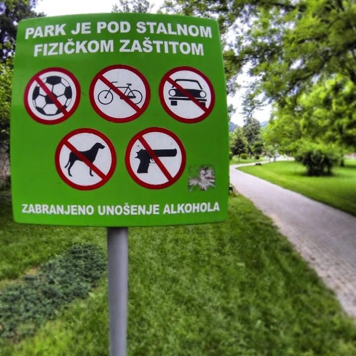 proibido o uso de arma