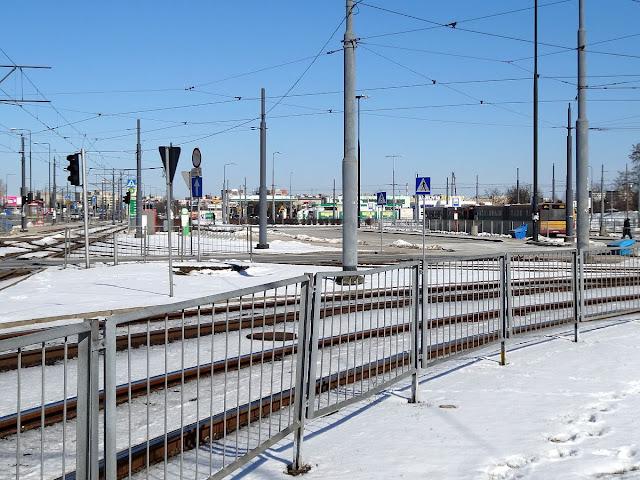 Pętla tramwajowa i autobusowa Nowe Bemowo.
