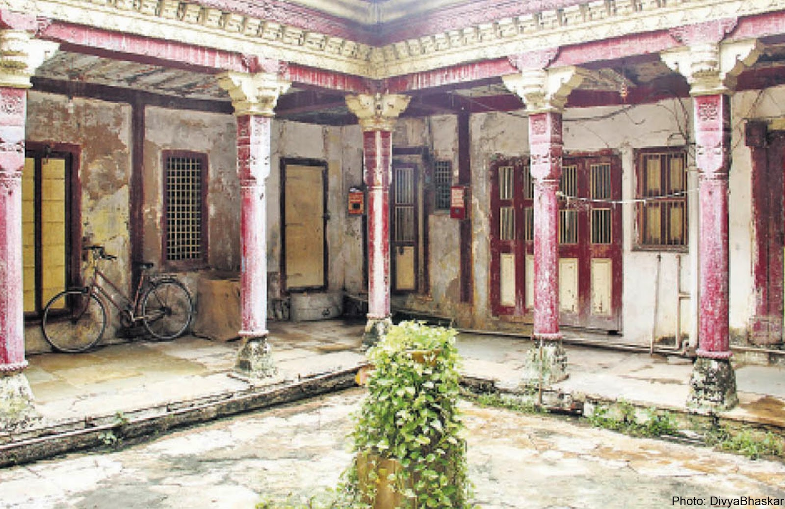 The Chok at Hari - Bhakti ni Haveli
