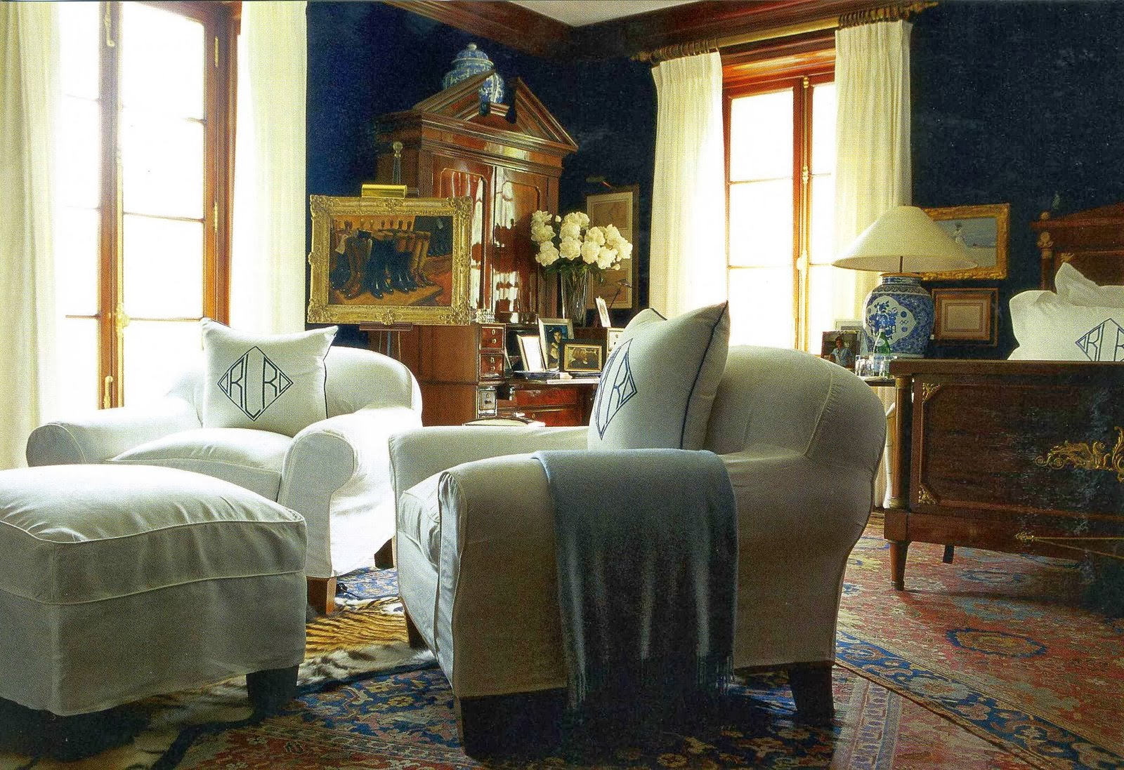 Decor inspiration at home with ralph lauren new york for Home decor new york