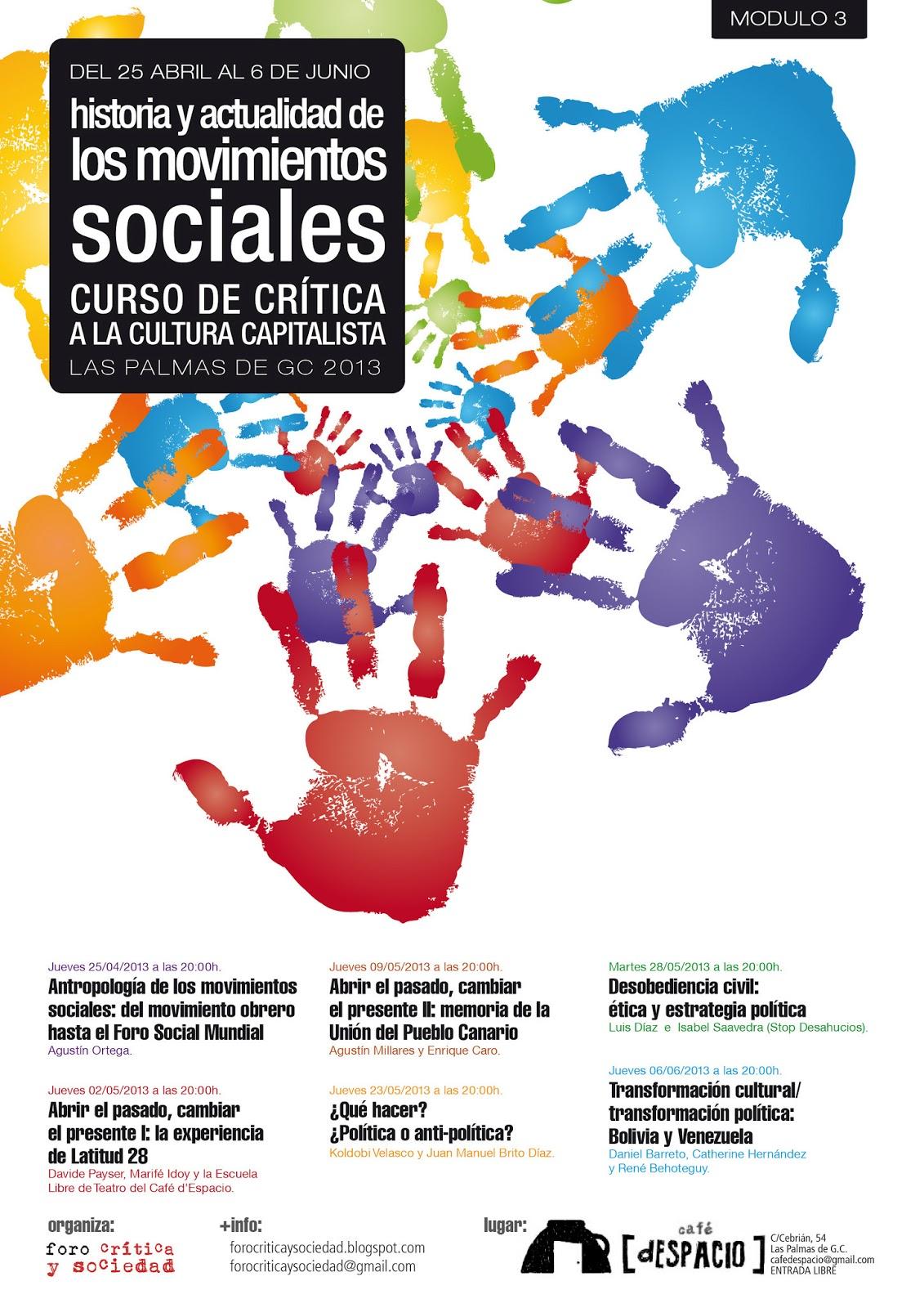 foro crítica y sociedad: abril 2013