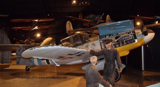 Bf 109G at NMUSAF, Dayton July 2012