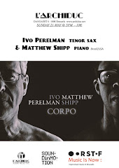 Ivo Perelman - Matthew Shipp live Brussels L'Archiduc 21 may 5 PM
