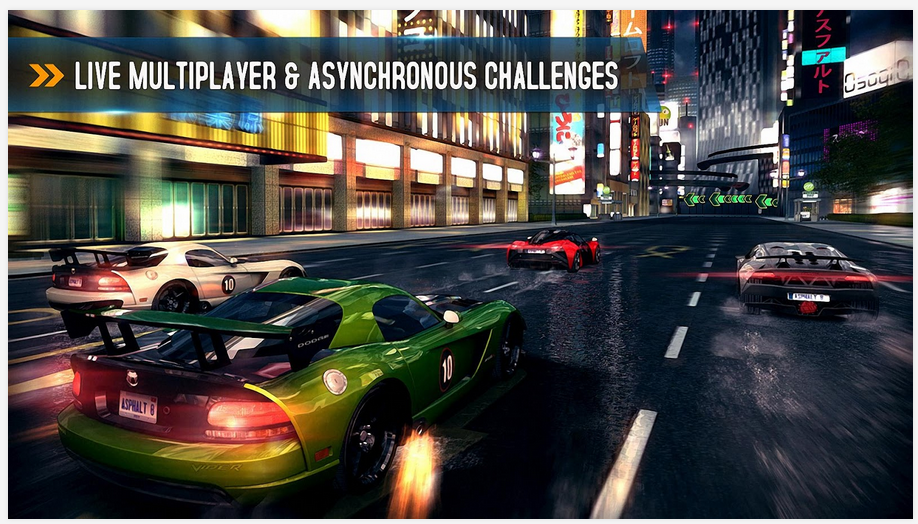 Free Download Asphalt 8 Airborne, Racing Games Android