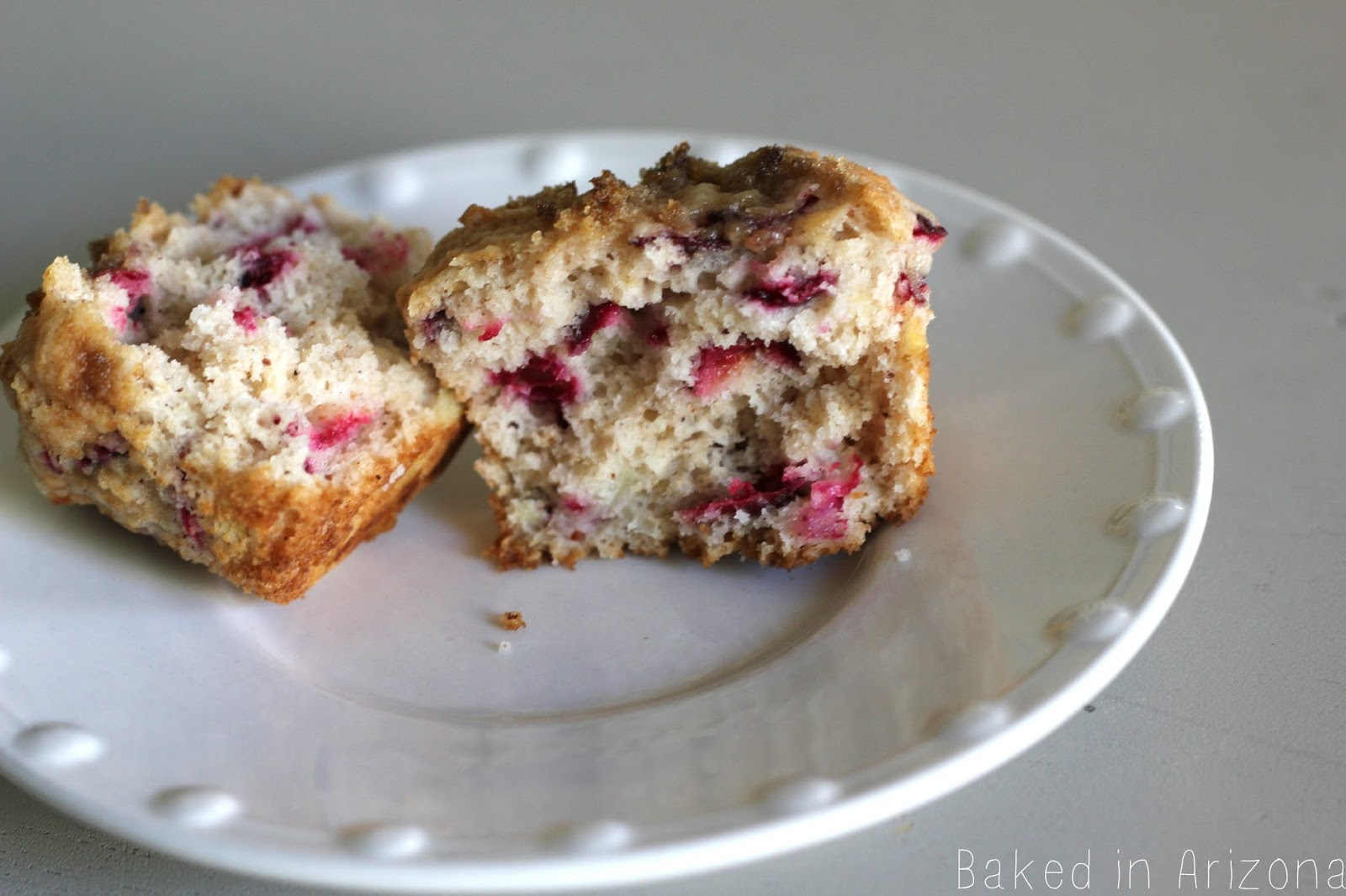 Cranberry Pineapple Muffin | Baked in AZ