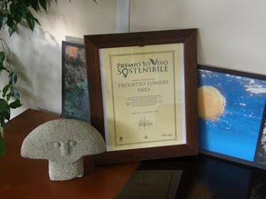 Premio 2010 Enea progetto Lumiere