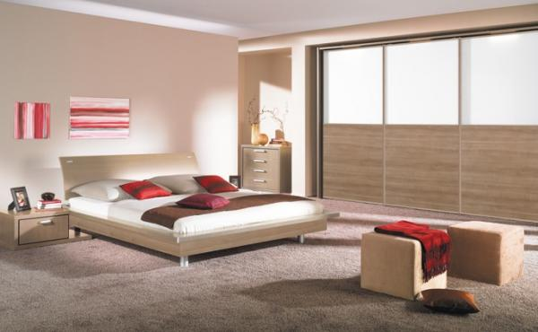 Design chambre coucher for Decoration chambre a coucher en photo