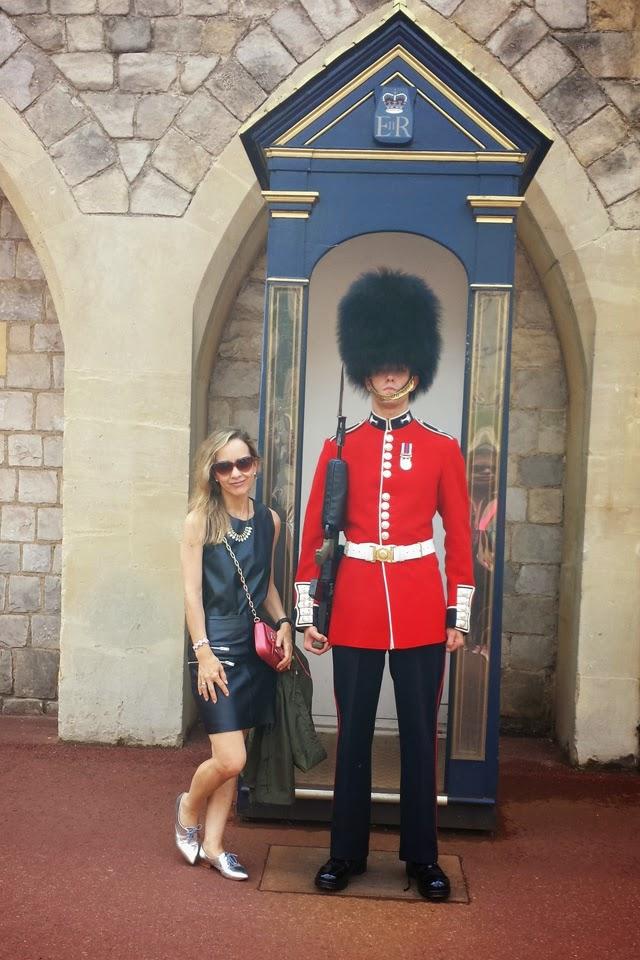 Cambio de guardia Castillo Windsor