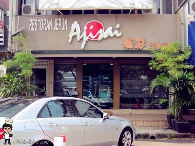 Ajisai japanese restaurant taman pelangi for Ajisai japanese cuisine