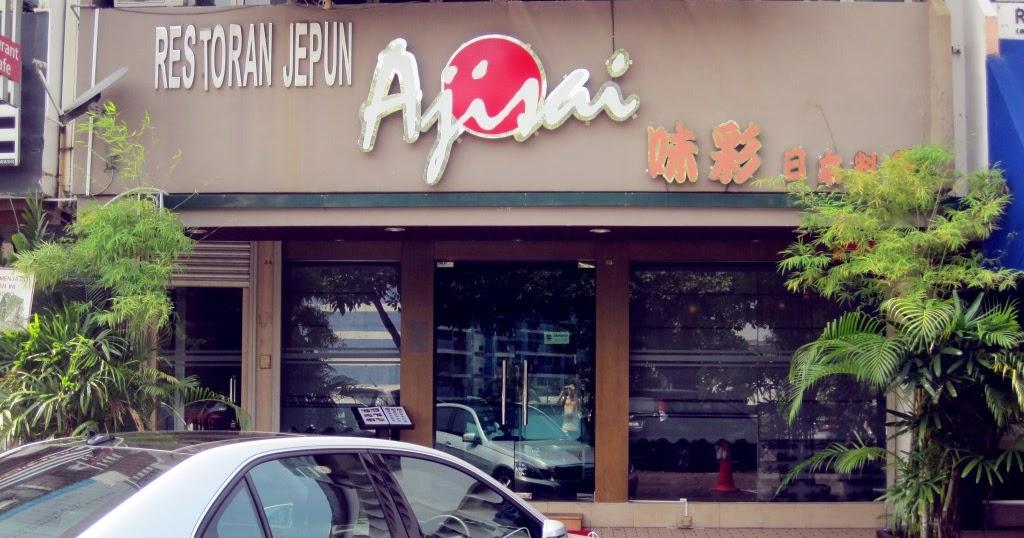Ajisai japanese restaurant taman pelangi johor bahru for Ajisai japanese cuisine