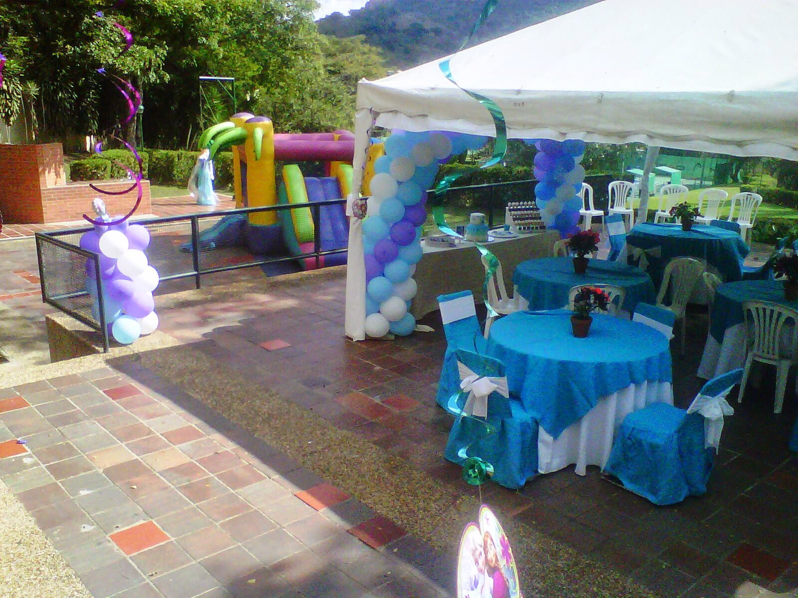 Pkelandia fiesta de frozen cumplea os de ana paula for Decoracion de parques