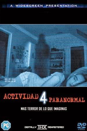 Imagen Actividad Paranormal 4 DVDRip Latino