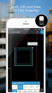 تطبيق اوتوكاد الرسمي لعرض وتحرير الرسومات لجميع الهواتف وويندوز 10 - AutoCAD 360