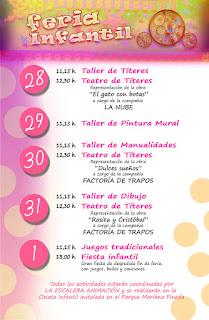 PROGRAMA INFANTIL   Feria de San Agustín 2015  LINARES