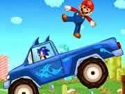Sonic cứu Mario, game sonic hay tại GameVui.biz