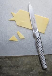 Crispy cheese stars