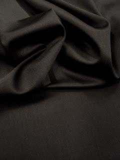 Satin de laine extensible
