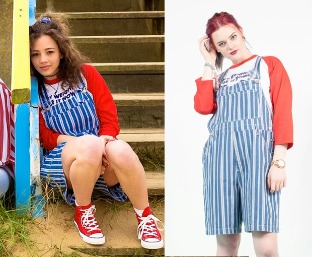 Striped Dungarees, The Vintage Scene, Lookbook