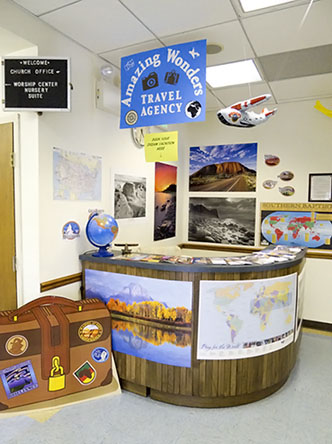 Karen d artistry amazing wonders aviation vbs decorations for Aviation decoration ideas