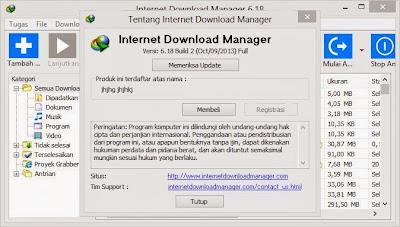 Internet Download Manager 6.18 build 2