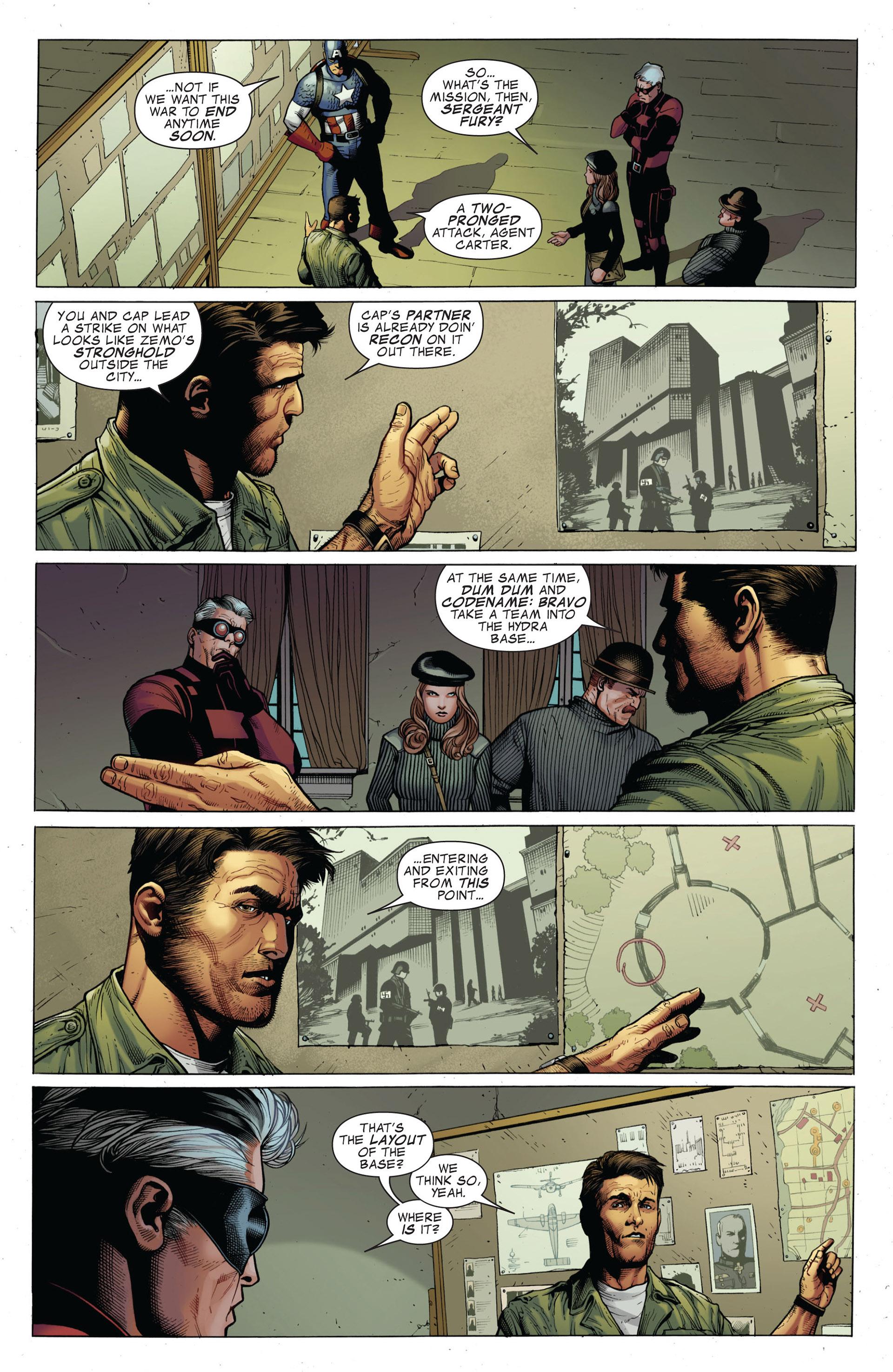 Captain America (2011) Issue #1 #1 - English 14
