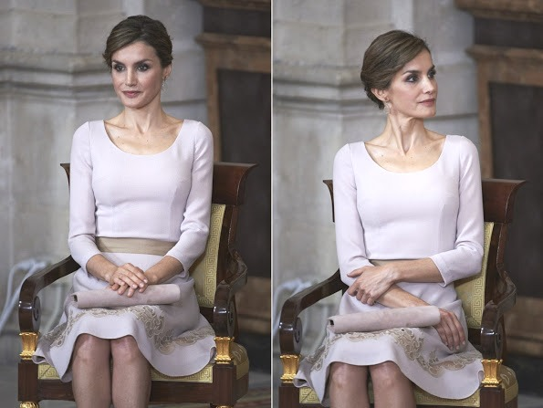 Queen Letizia And King Felipe Attended The Order Of The Civil Merit Ceremony