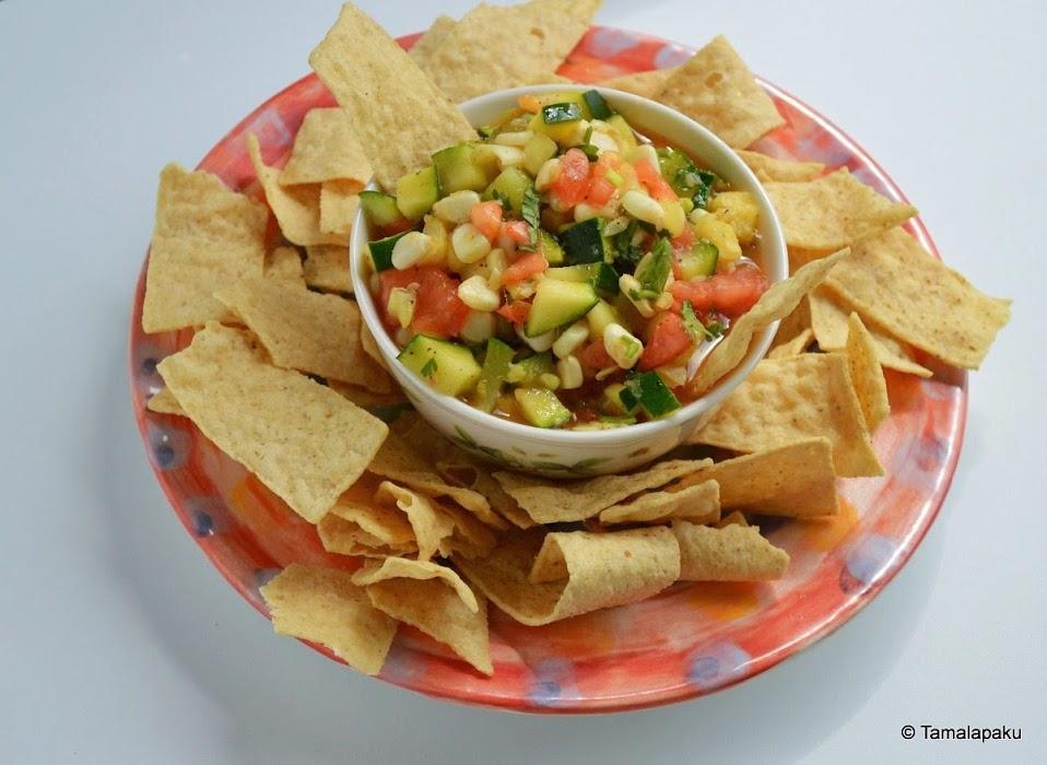 Zucchini Avocado Salsa