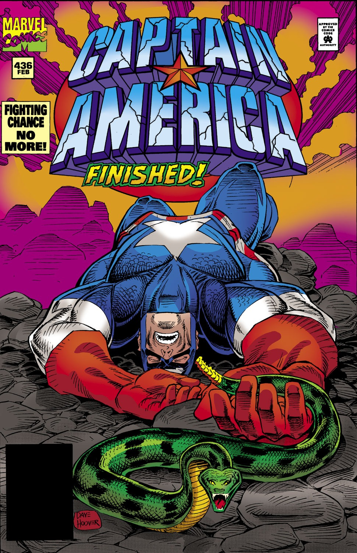 Captain America (1968) Issue #436 #386 - English 1