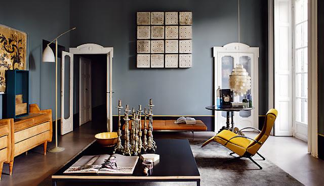Wandfarbe in der Einrichtung - Wohlfühlen beim Wohnen mit Farbe