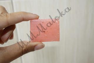 Recenzja mydełka różanego - THE SECRET SOAP STORE - bio-mydło różane