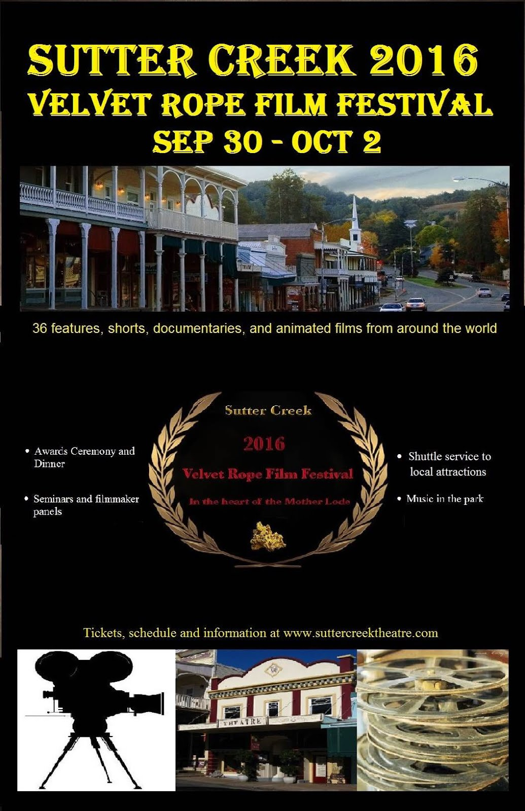 Velvet Rope Film Festival - Sept 30 - Oct 2