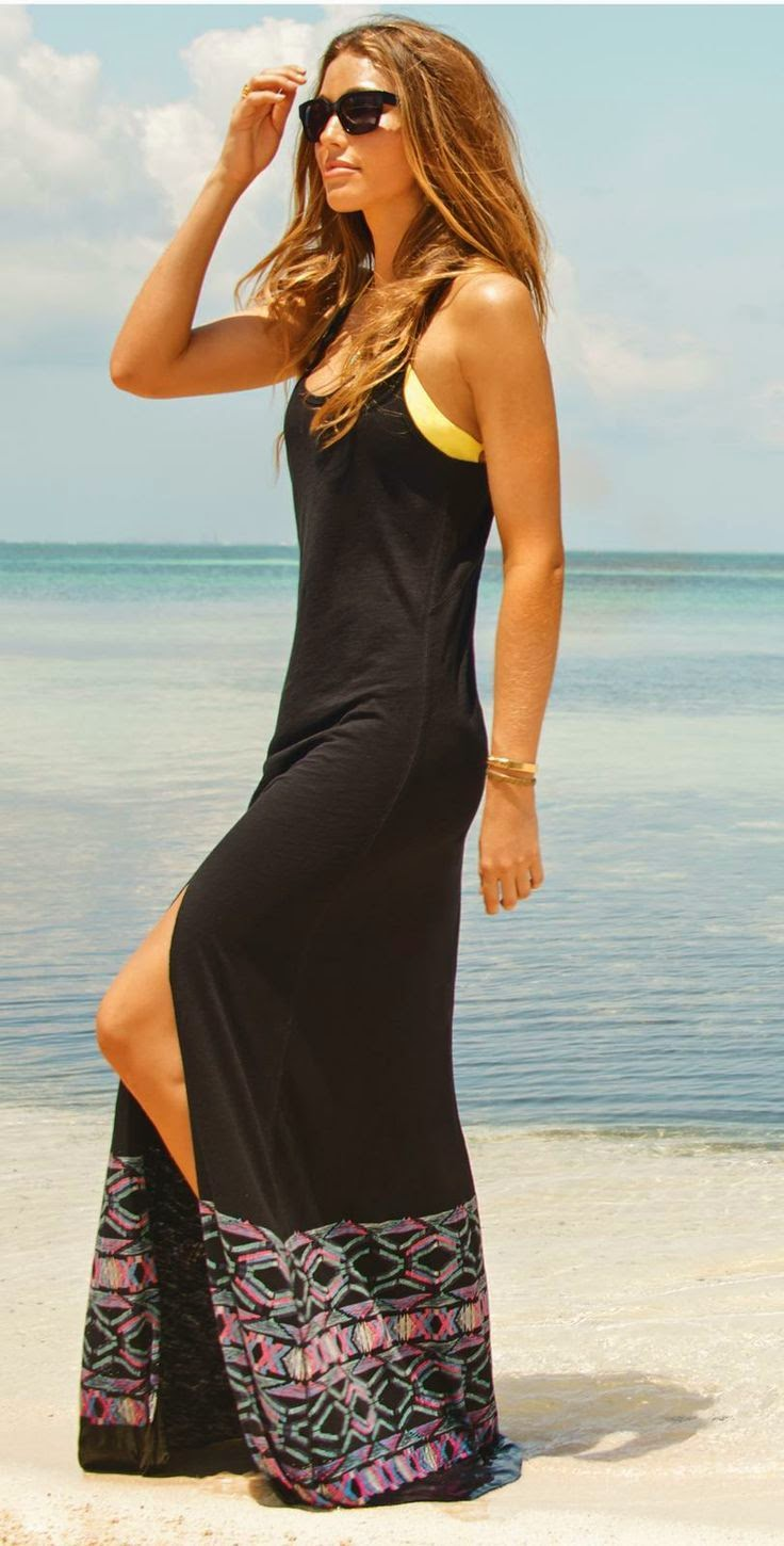 See more Beach Style Modern Summer Maxi