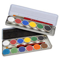 Clown Face Painting Supplies