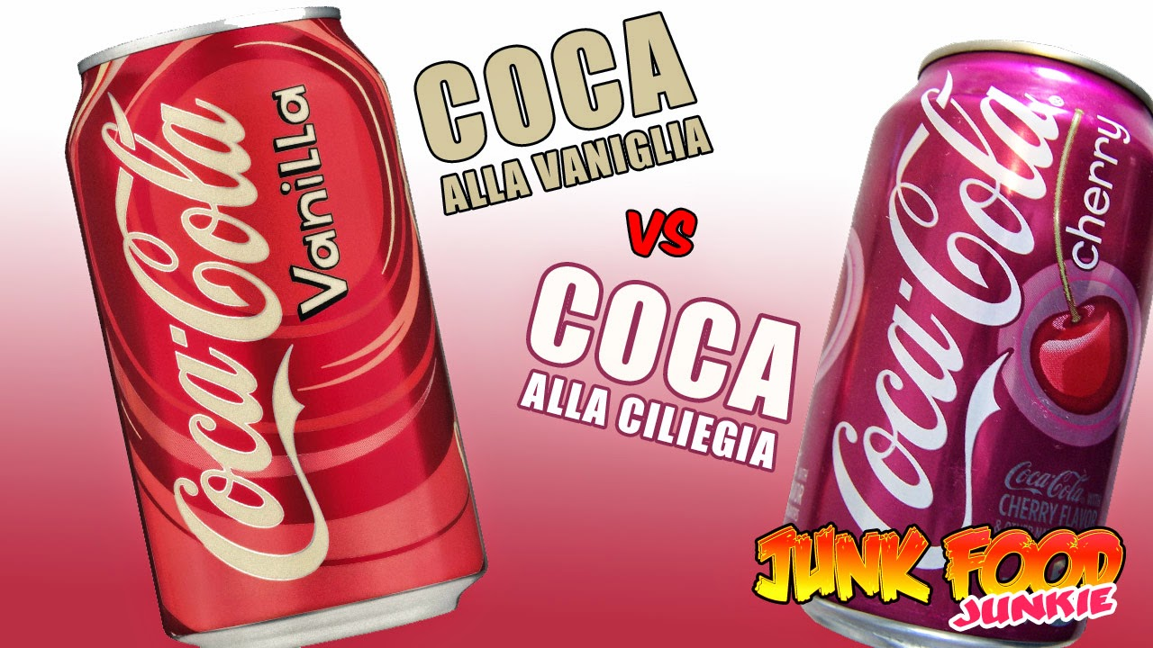 Coca-Cola alla Vaniglia Coca-Cola alla Ciliegia