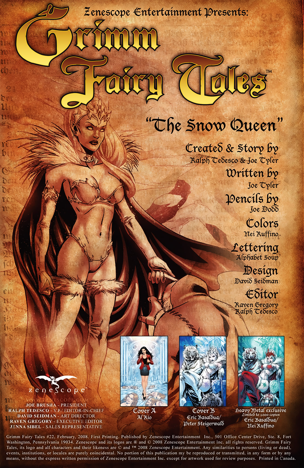 Grimm Fairy Tales (2005) Issue #22 #25 - English 2