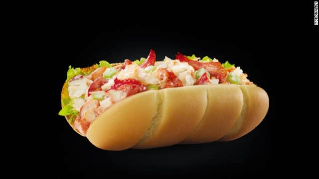 Roll McLobster Sajian Menu McDonalds Kanada