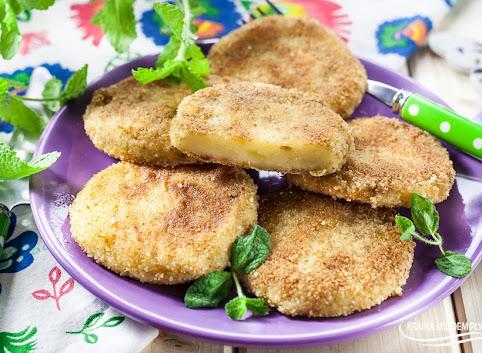 Krokiety ziemniaczane z serem