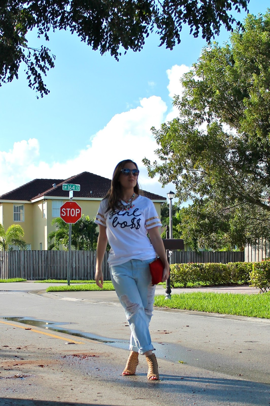 Love Alice Louise, etsy, gap, jeffrey campbell, vintage, J. Crew, nordstrom, fashion blogger, Miami fashion blogger, Miami style, graphic tee, Girl Boss, what I wore, ootd