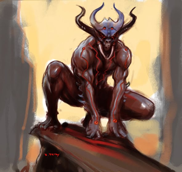 Demon Speed Painting