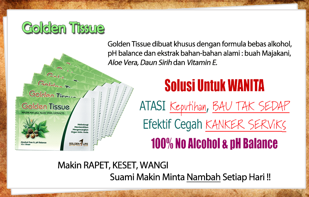 Jual Golden Tissue