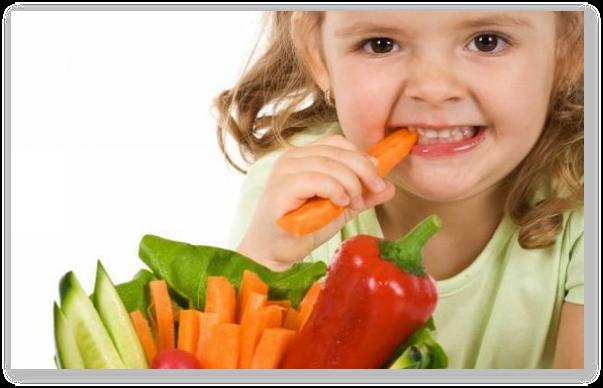 Copilul meu nu mananca fructe si legume...