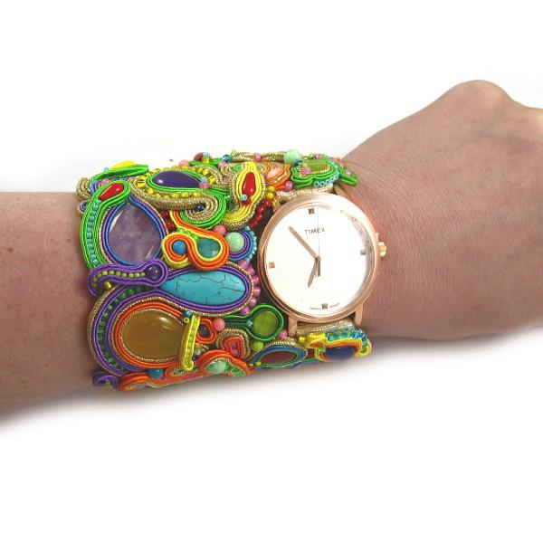 szeroki zegarek timex