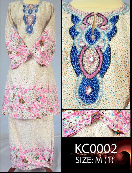 Baju kurung cotton manik vietnam