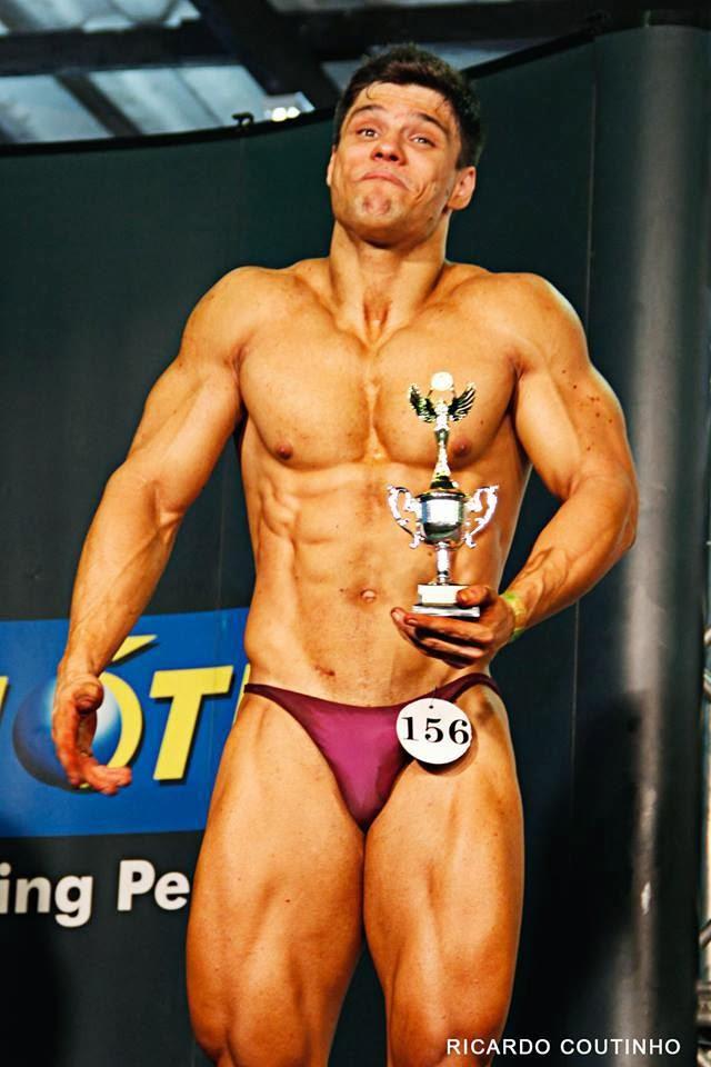 Gustavo Almeida ficou surpreso pela classificação em último lugar na categoria. Foto: Ricardo Coutinho