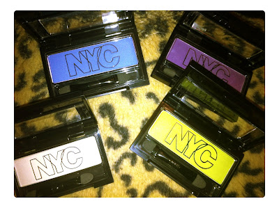 neon eyeshadows