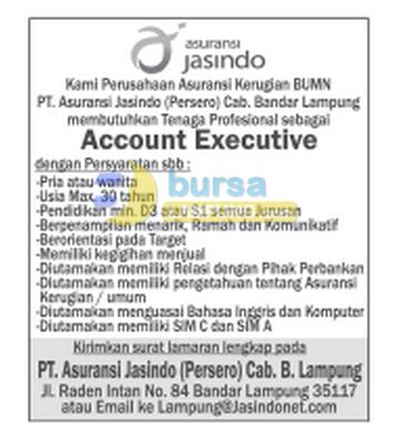 Lowongan Kerja BUMN 2015 (Asuransi Jasindo)