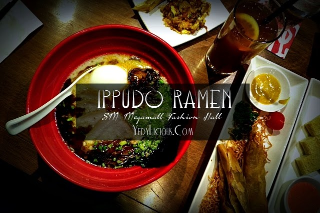 Ippudo Ramen Manila Philippines SM Megamall Mega Fashion Hall, Ippudo Blog Review Menu Branches Address Operating Hours Website Facebook Instagram Twitter