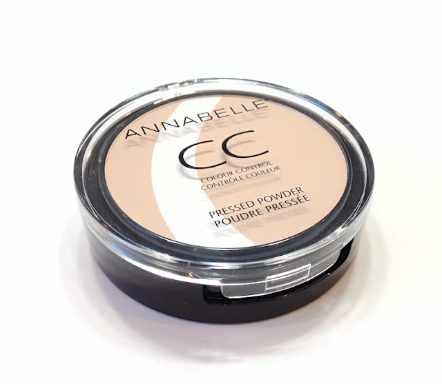 Annabelle CC Colour Control Pressed Powder