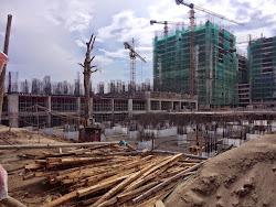 Cập nhật tiến độ xây dựng Chung cư HH3 Linh Đàm